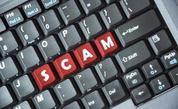 Is the internet the main source for scams in Australia?