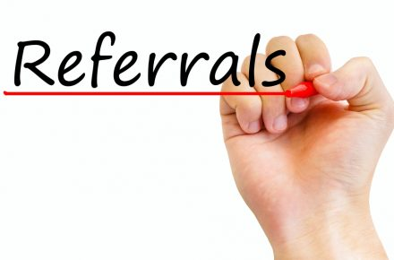 What kind of referrals are essential for growing SMEs?